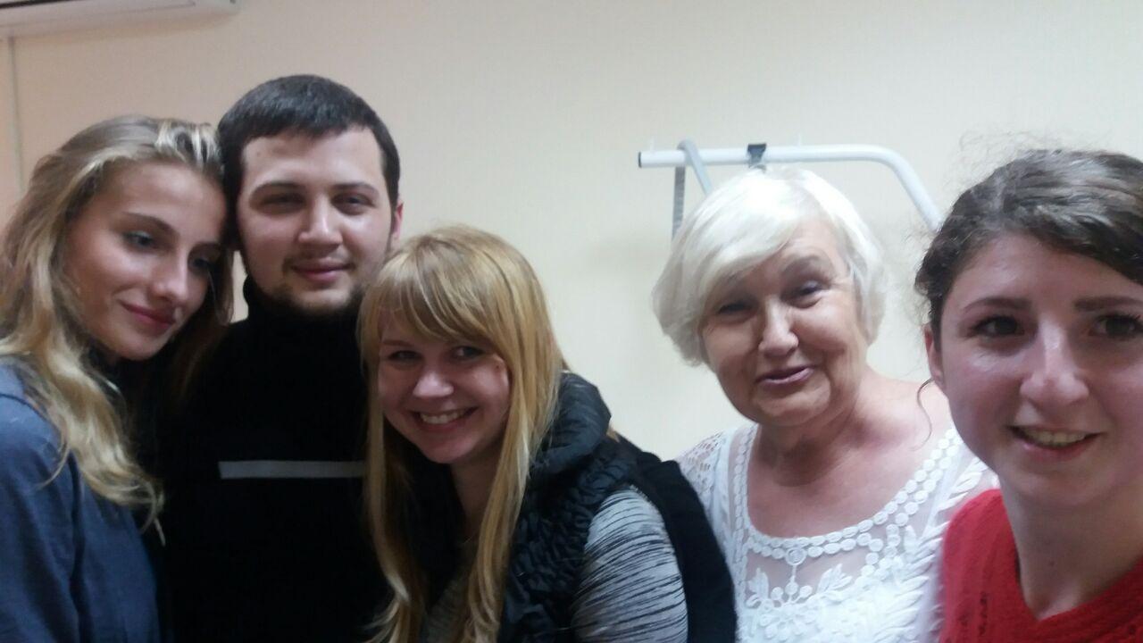 Геннадий Афанасьев с близкими