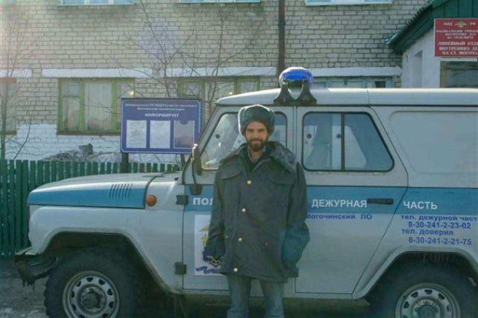 Шарль Бартолини в полицейской форме. Фото: Комсомольская Правда