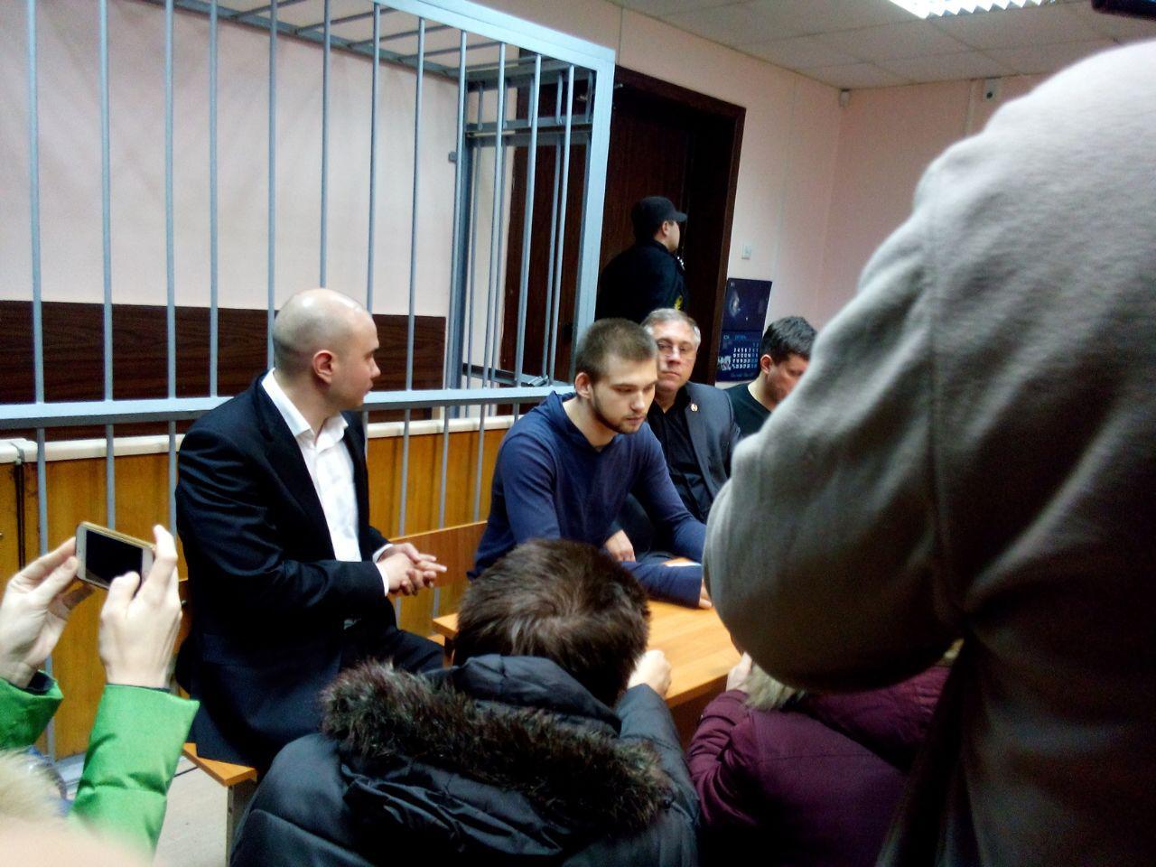 Соколовский в суде