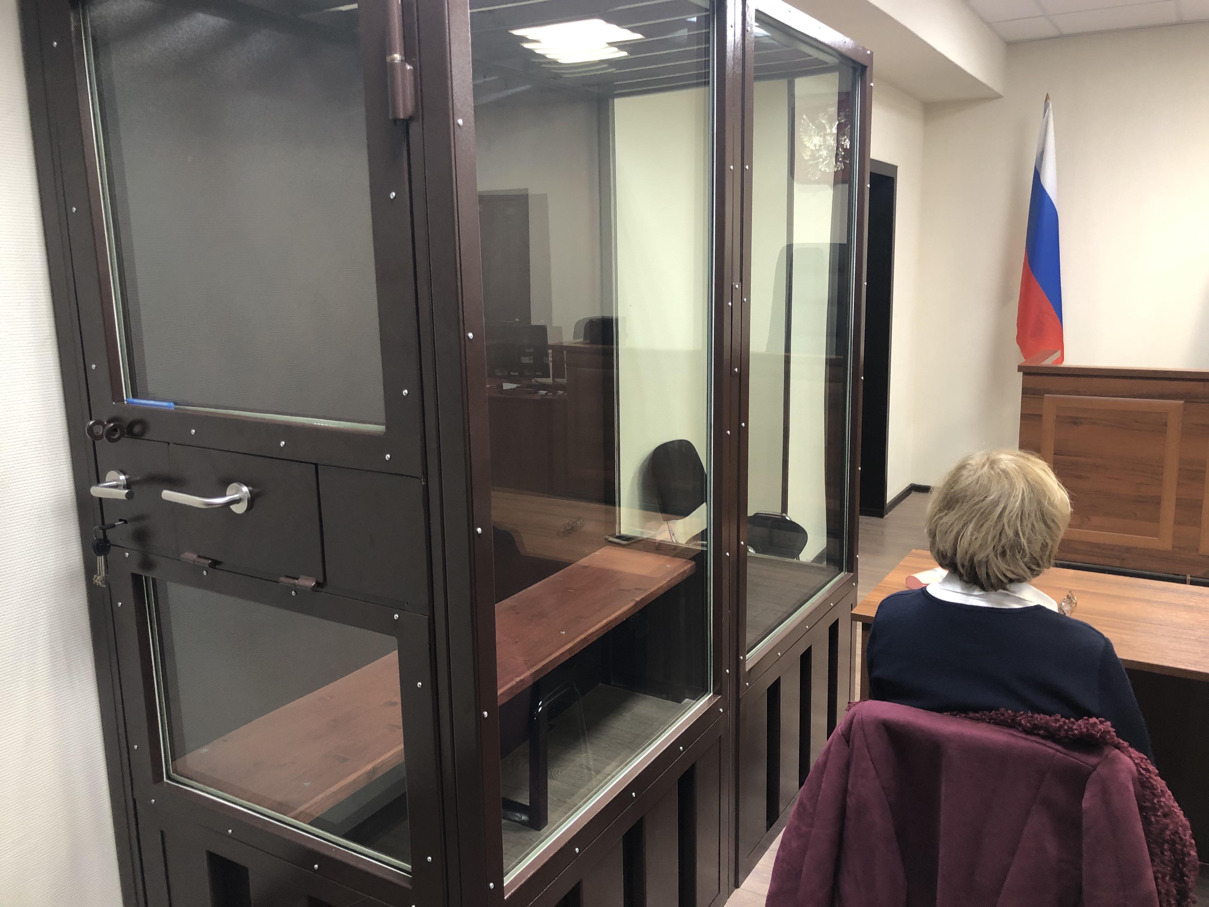 Бученкова нет в суде