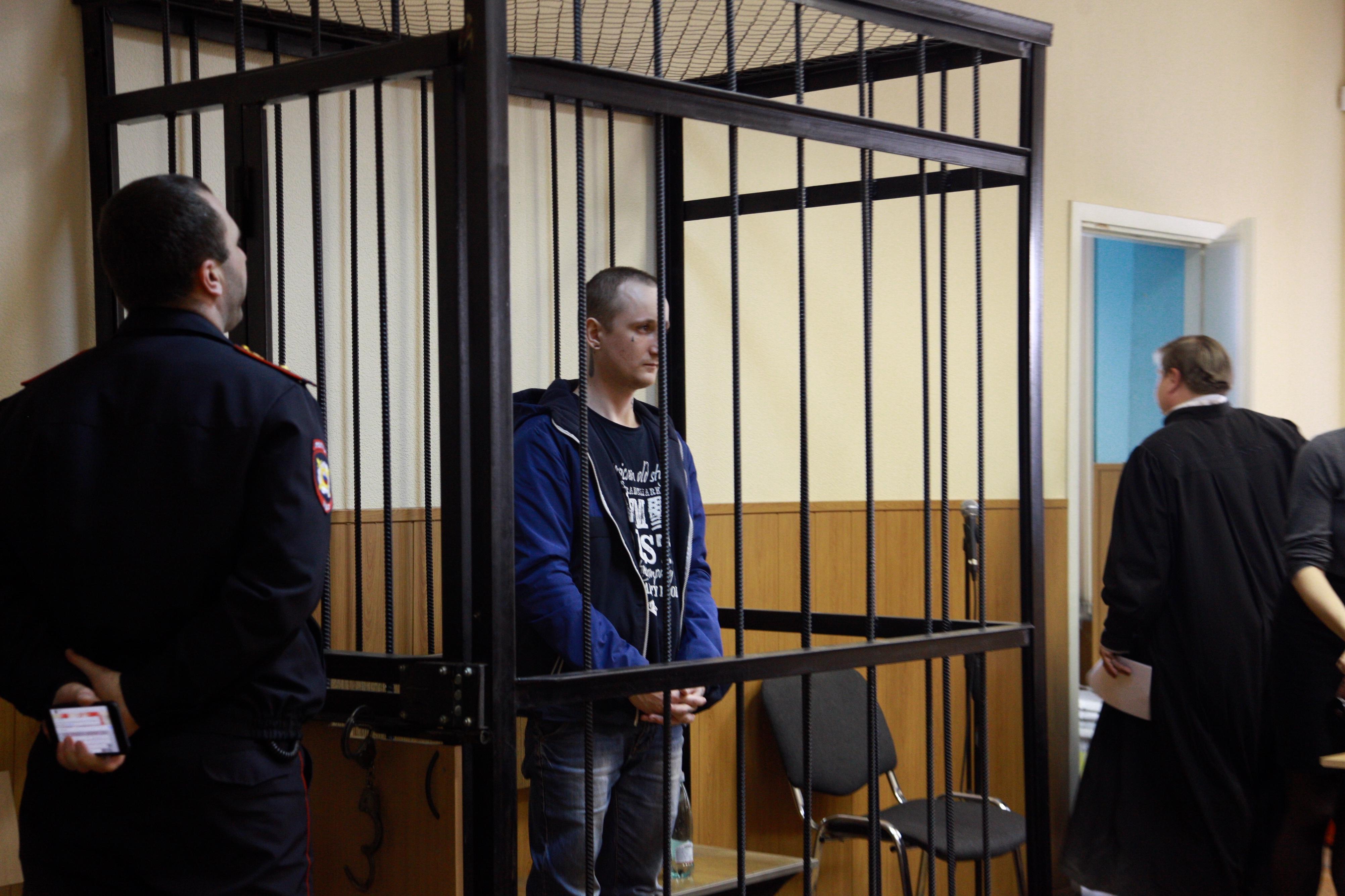 Цакунов после оглашения постановления судьи