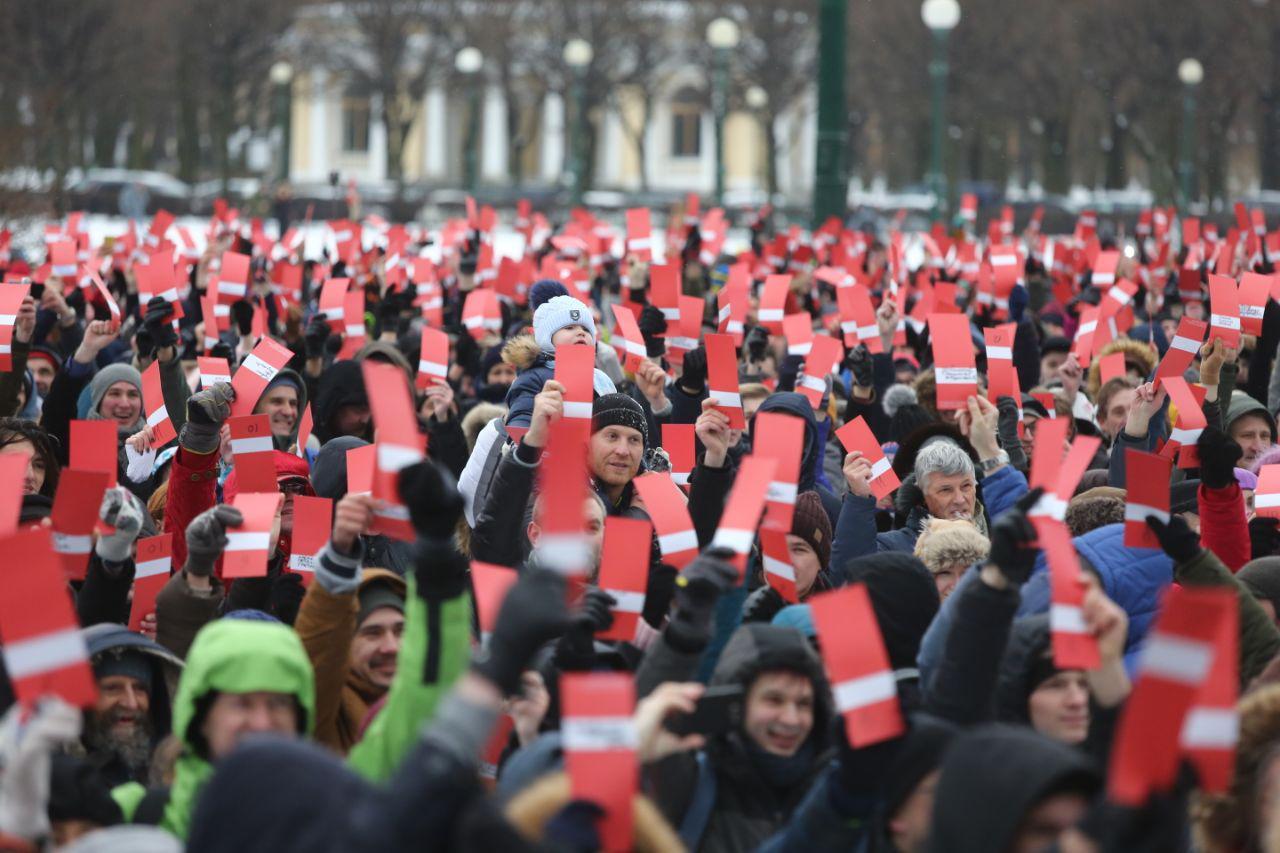 Собрание инициативной группы за выдвижение Навального