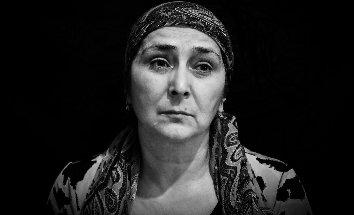 Бурлият Махаева, мать Пахрудина Махаева. Фото: Ильяс Хаджи / «Медиазона»