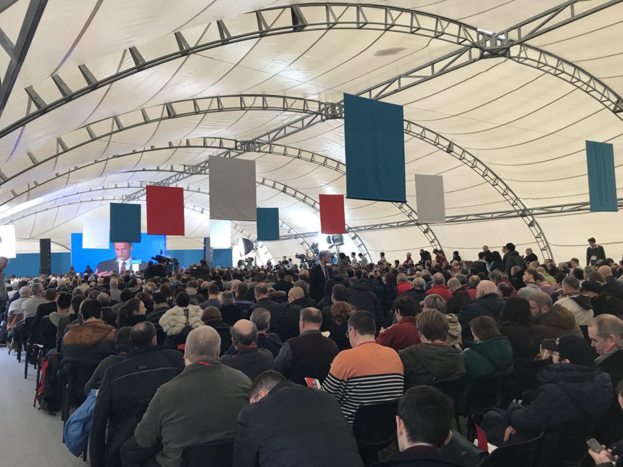 Собрание избирателей Навального в Москве