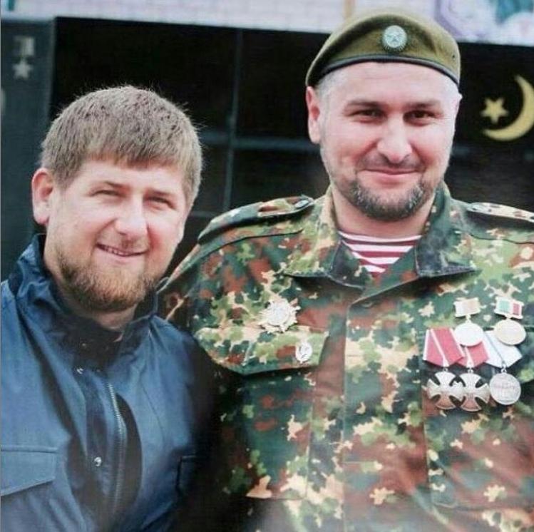 Рамзан Кадыров и Руслан Геремеев