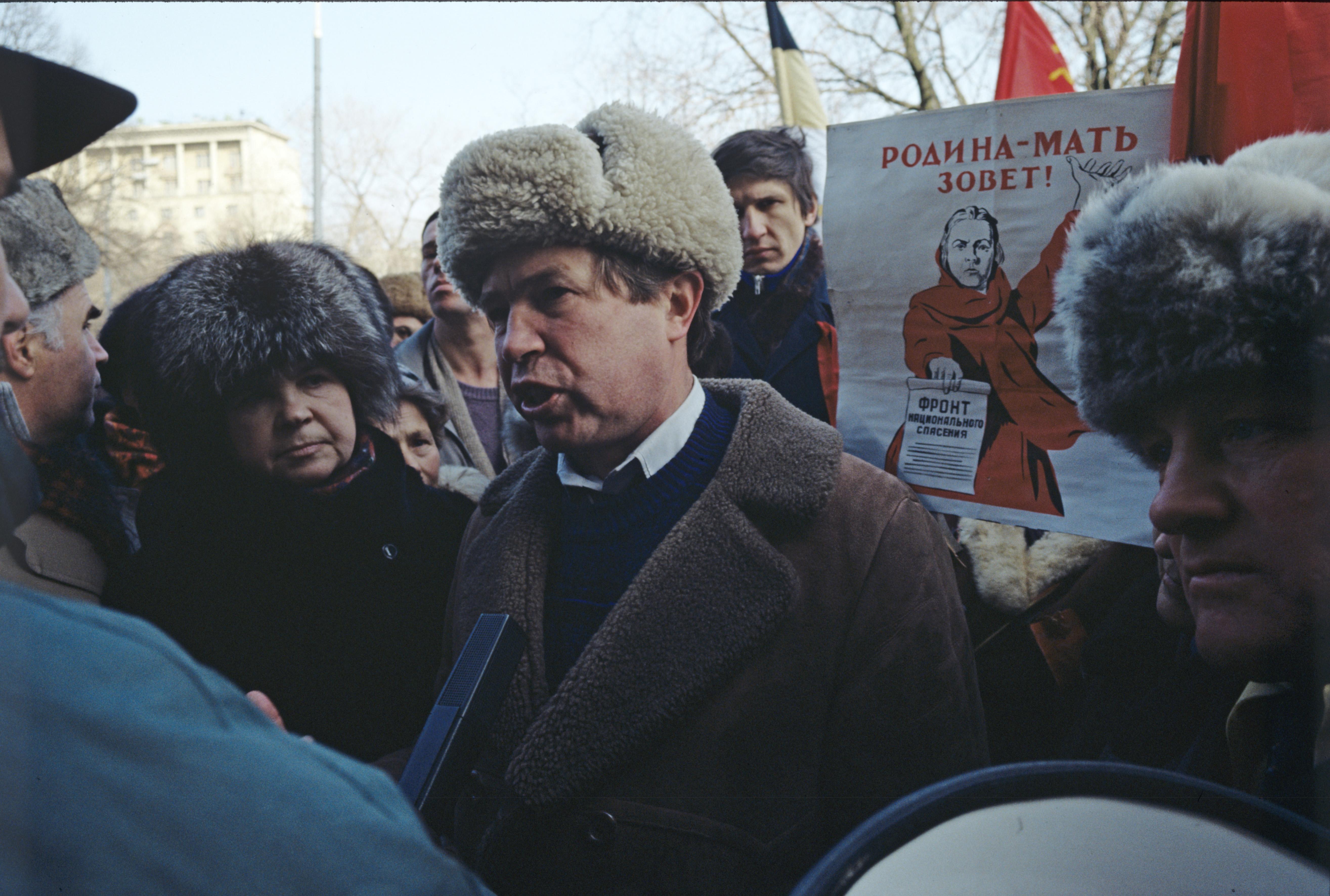 Виктор Анпилов в 1993 году