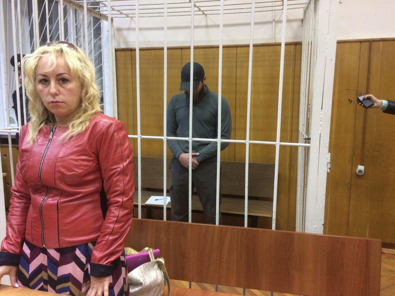 Юрий Калинин и его адвокат