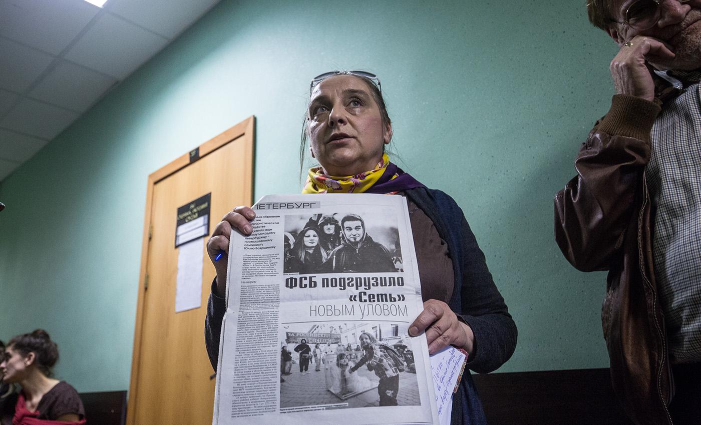 Мать Юлия Бояршинова в суде