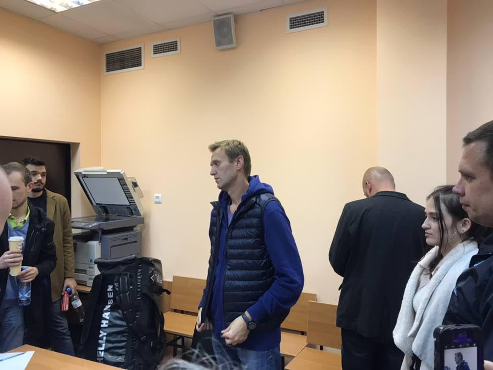 Навальный в Симоновском суде. 24 сентября