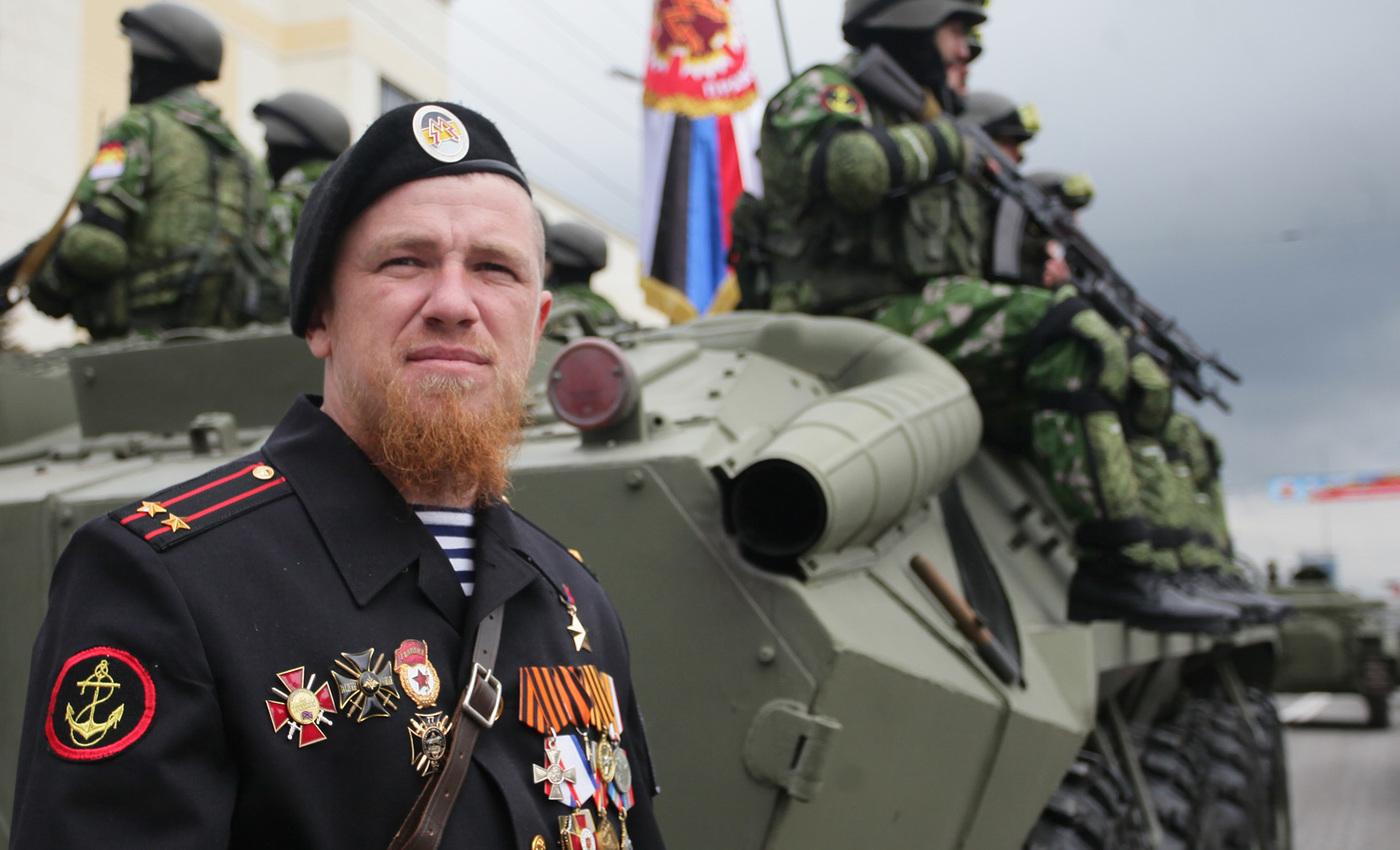 легенда новороссии моторола стал полковником фото загородный