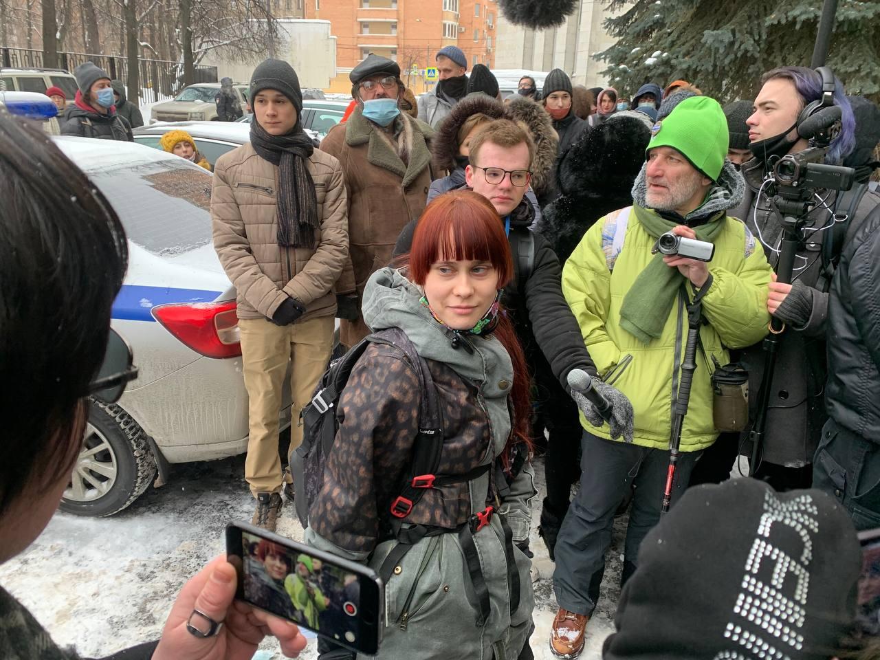 Елена Горбань. Фото — Анастасия Ясеницкая/Медиазона