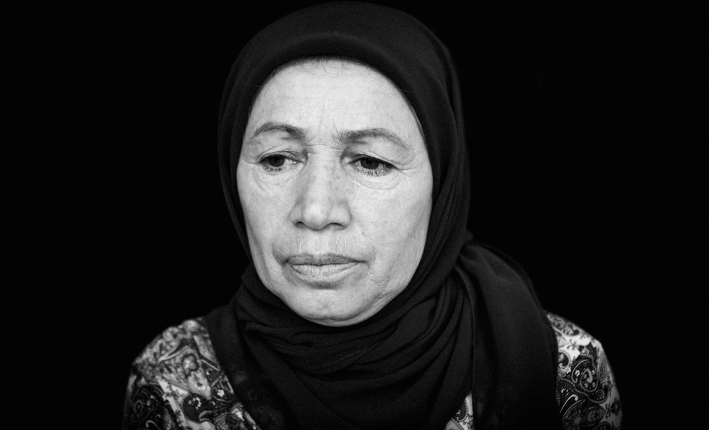 Умрайха Гасанова, мать Ислама Магомедова. Фото: Ильяс Хаджи / «Медиазона»