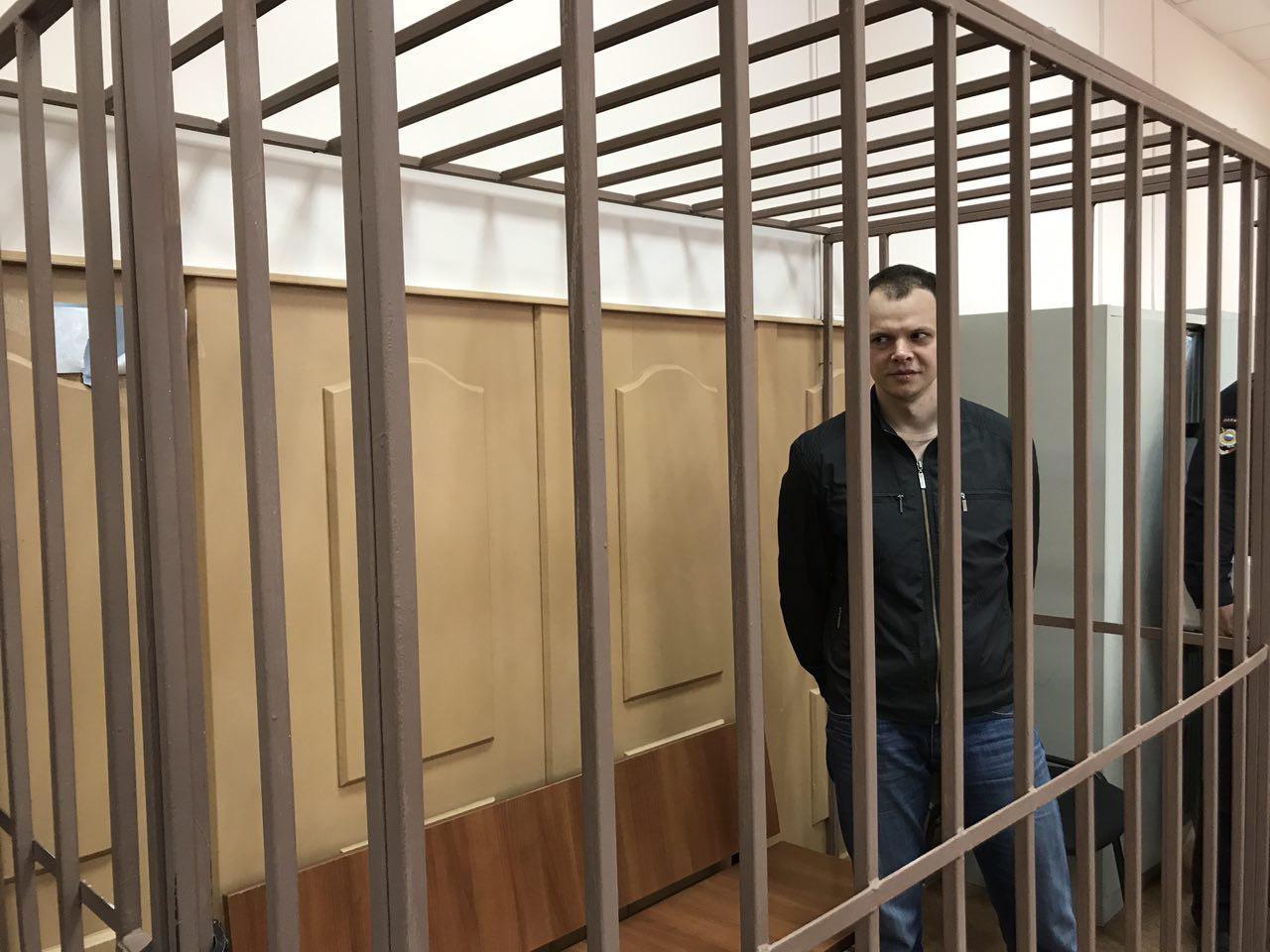 Дмитрий Борисов в Басманном суде