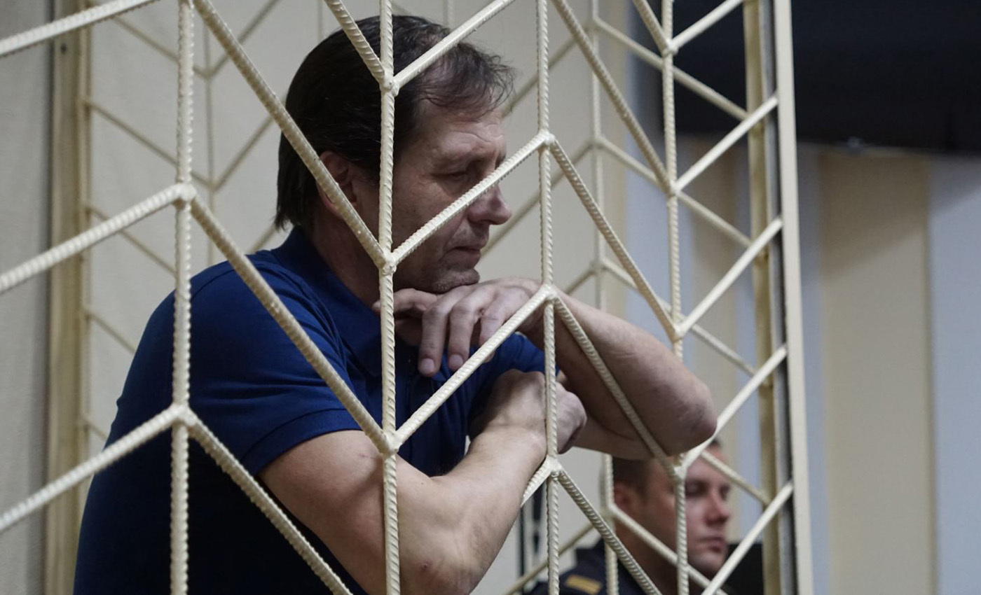 Crimean Farmer and Political Prisoner Vladimir Balukh Has Been on Hunger Strike for 104 Days