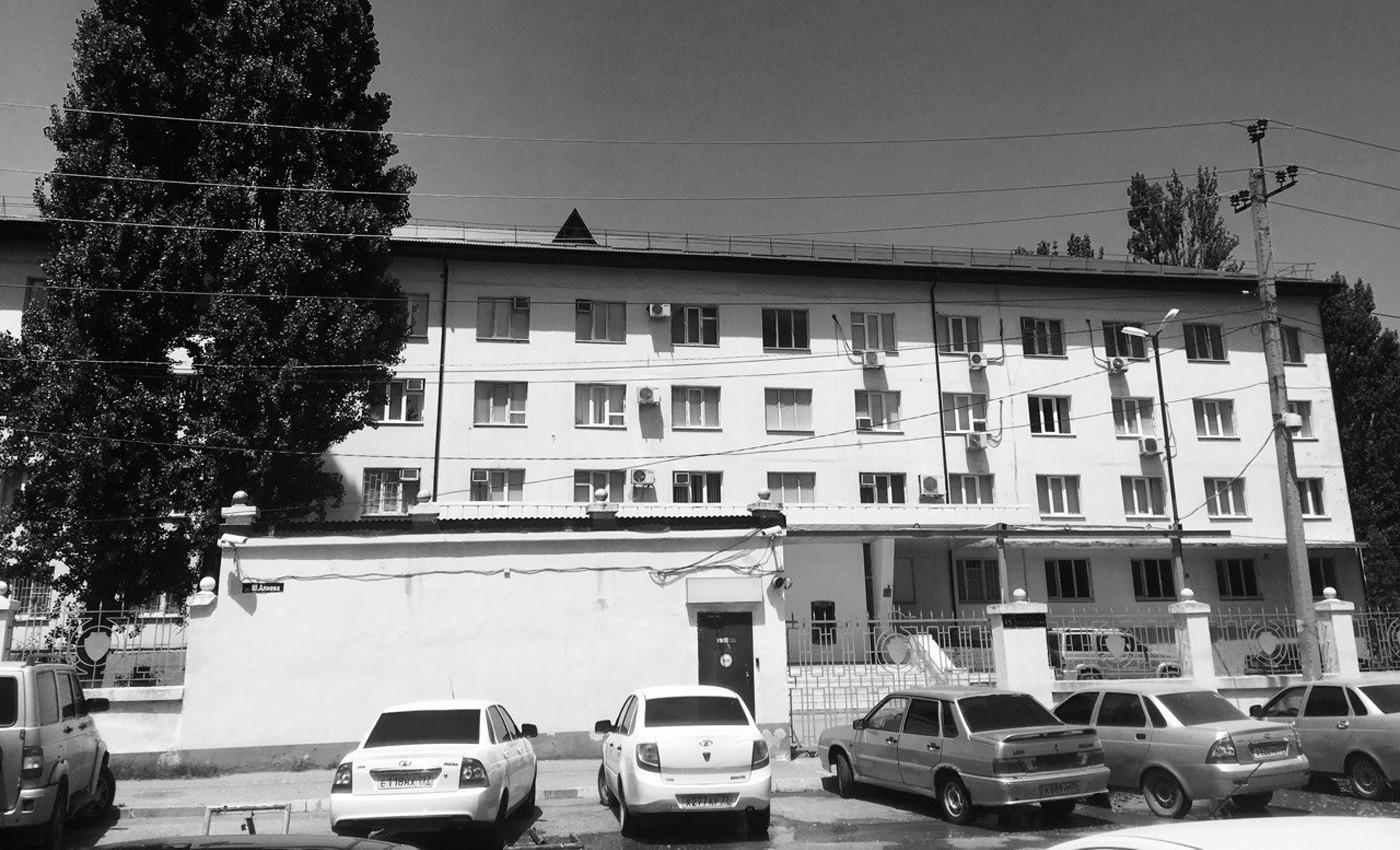 Здание ЦПЭ в Махачкале. Фото: Юлия Сугуева / «Медиазона»