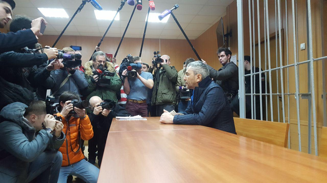 Джабраилов в Тверском суде