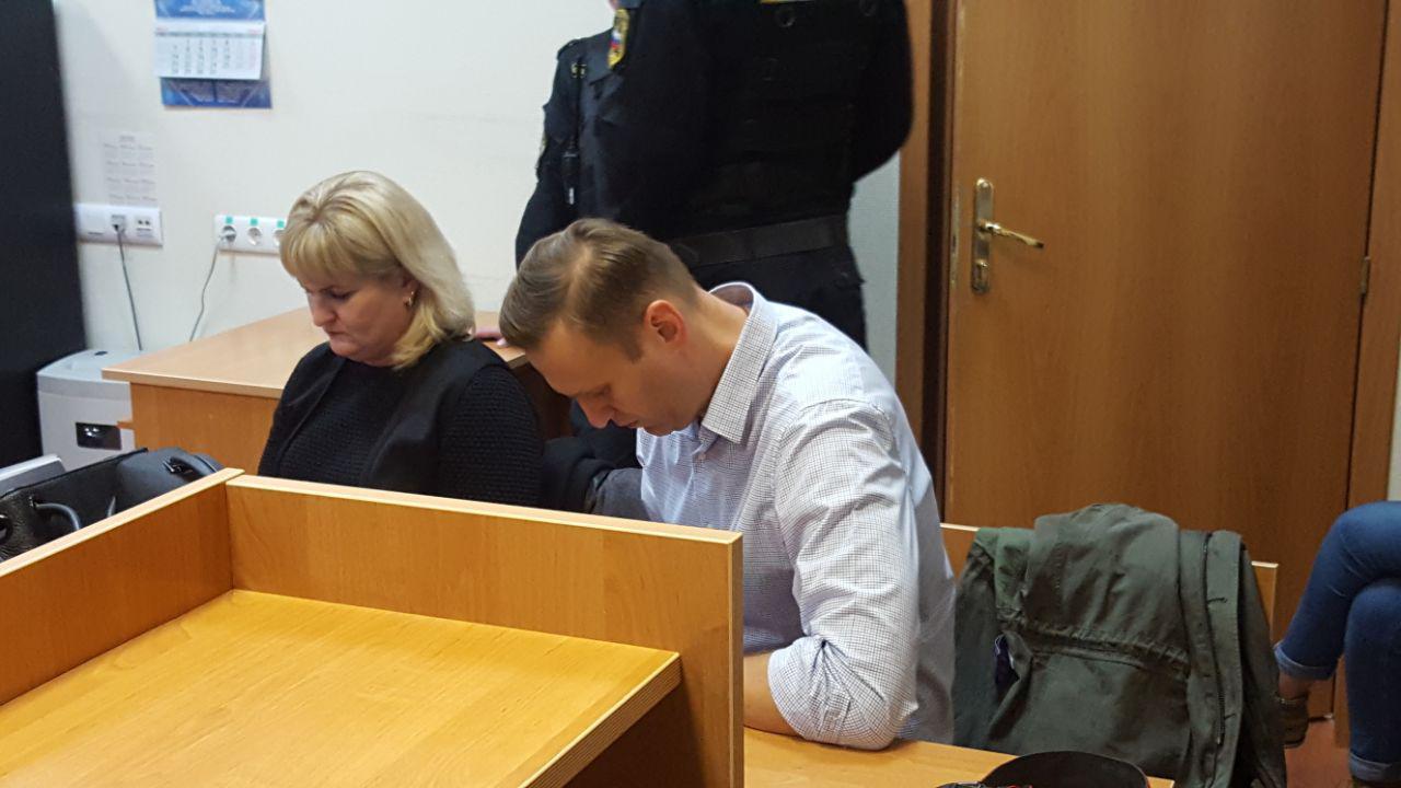 Навальный и адвокат Михайлова