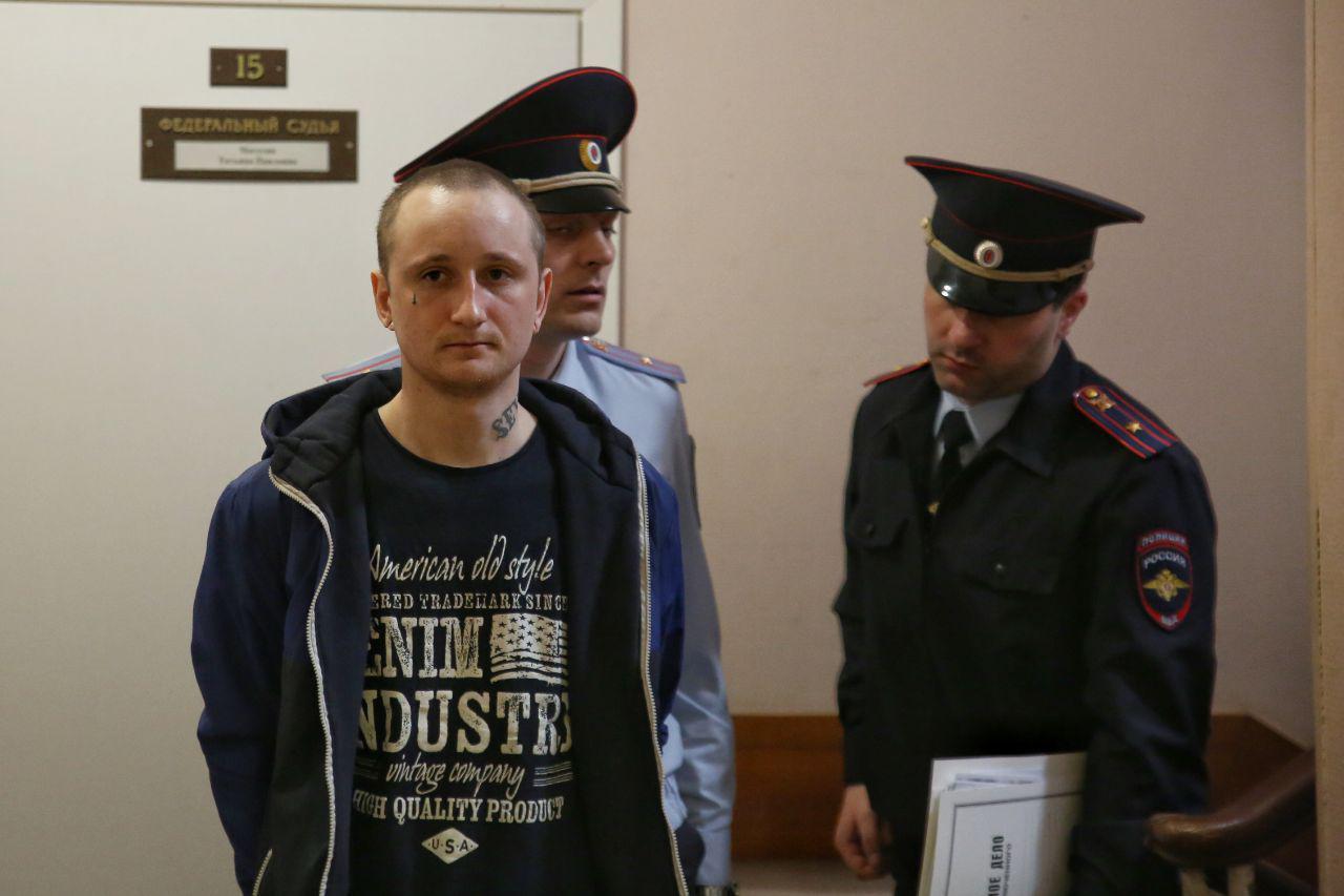 Михаил Цакунов в Дзержинском суде