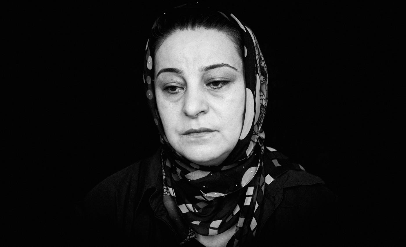 Аида Узданова, мать Гашима Узданова. Фото: Ильяс Хаджи / «Медиазона»