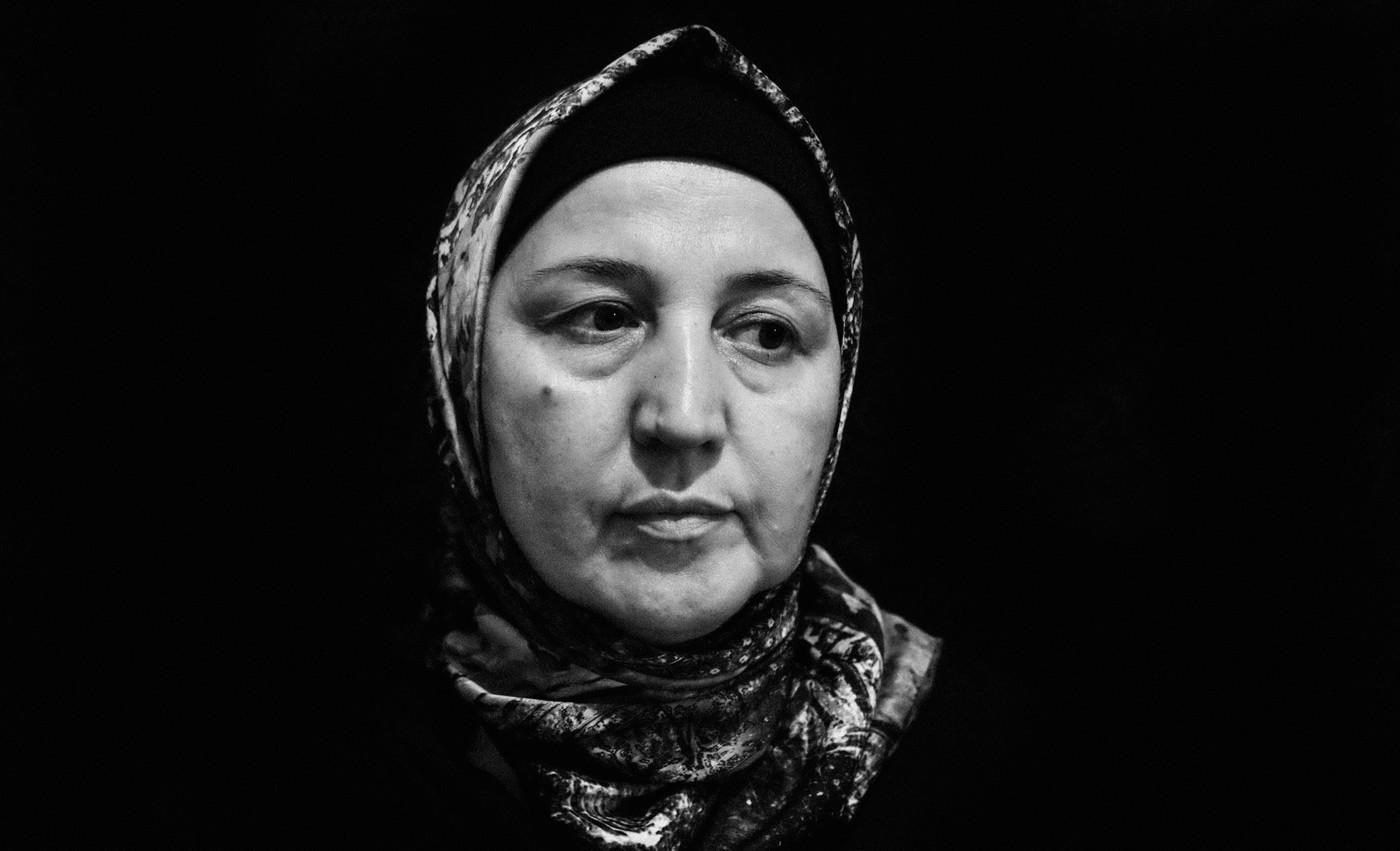 Супият Шарабдинова, мать Госена Госенова. Фото: Ильяс Хаджи / «Медиазона»