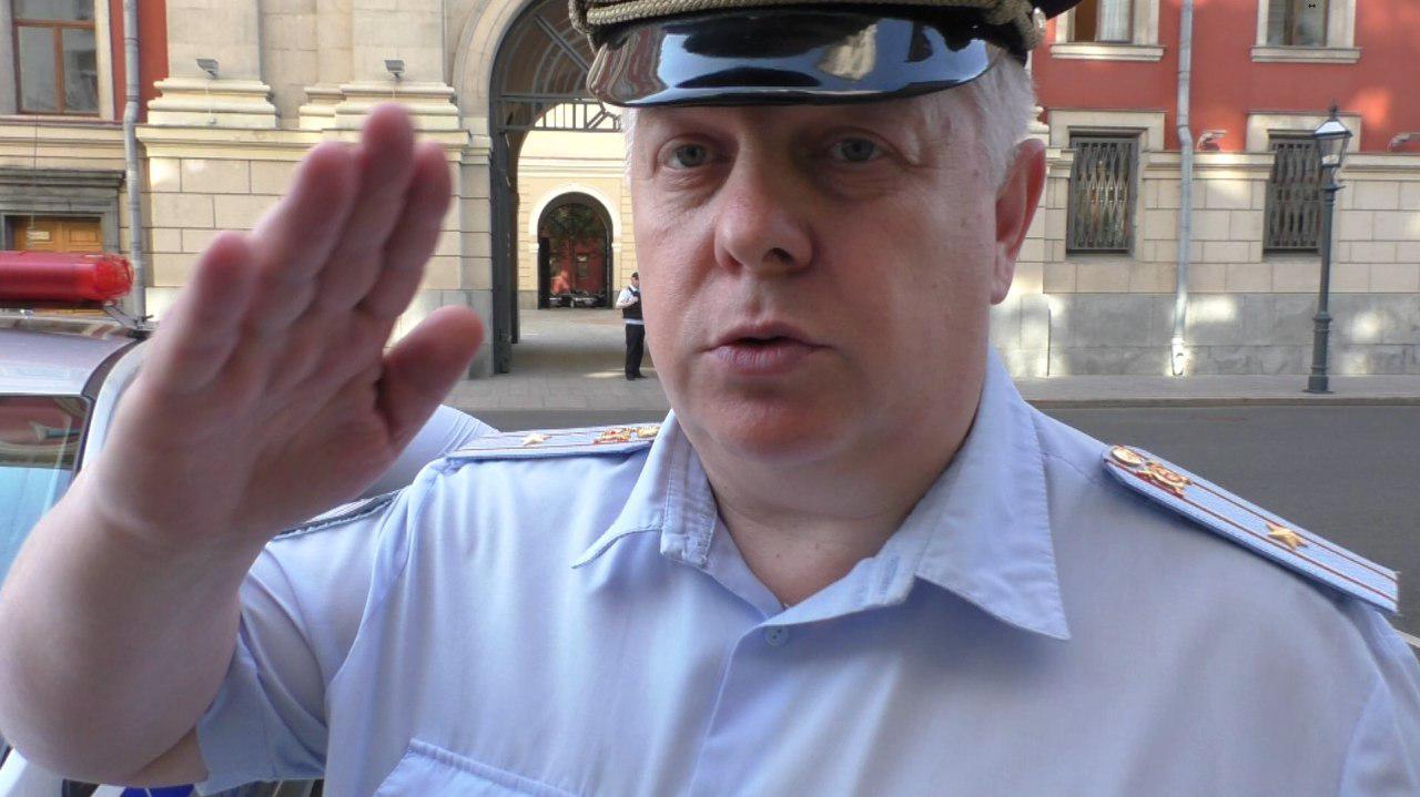 Полицейский, задержавший Вадима Коровина