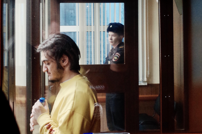 Самариддин Раджабов в суде. Фото: Александр Бородихин / Медиазона