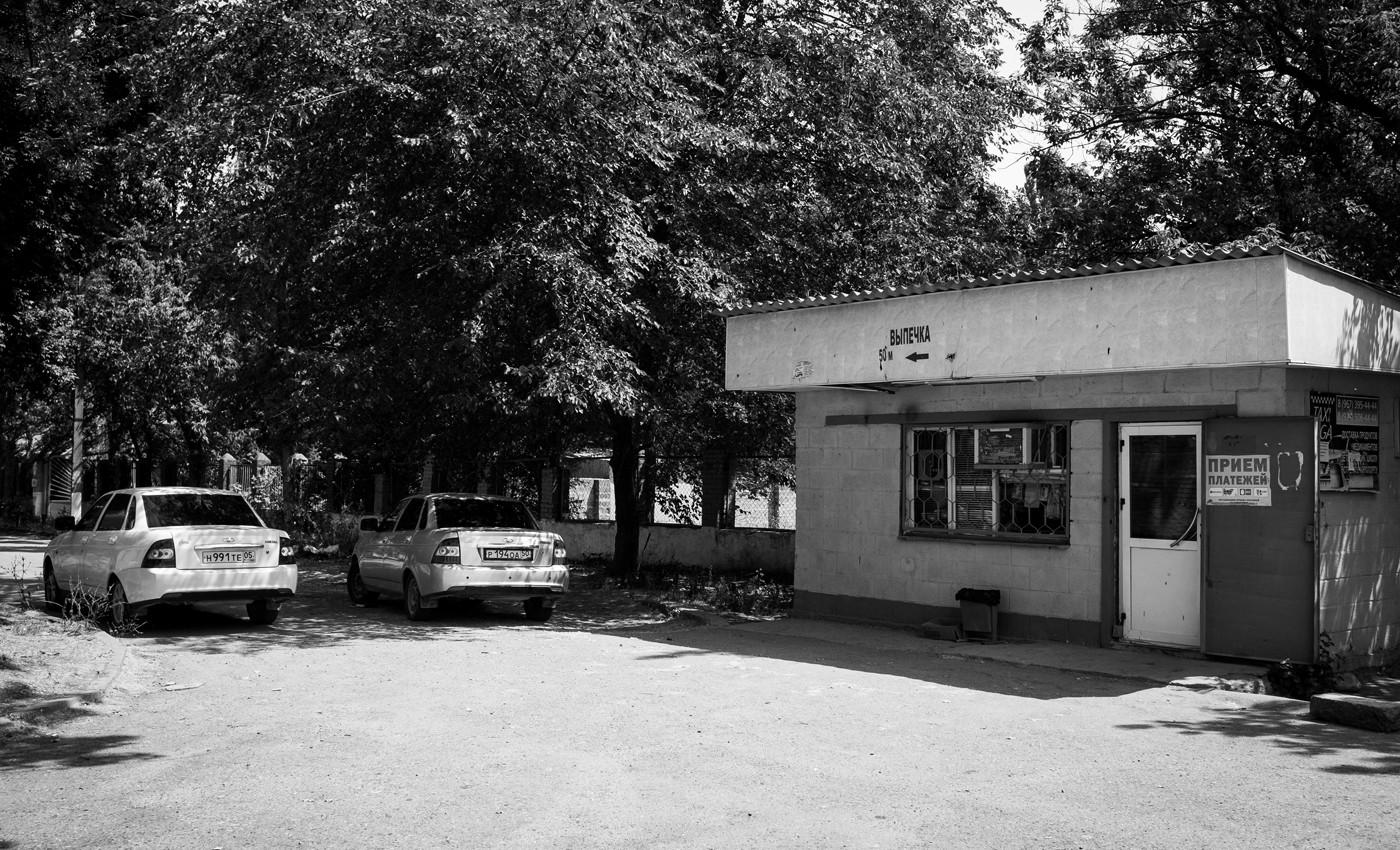 Место похищения Шамиля Джамалутдинова. Фото: Ильяс Хаджи / «Медиазона»